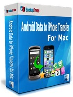 Backuptrans Android Data to iPhone Transfer for Mac (Family Edition) Coupon