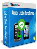 Backuptrans Android Line to iPhone Transfer (Family Edition) Coupons
