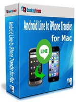 Backuptrans Android Line to iPhone Transfer for Mac (Personal Edition) – Exclusive Coupon