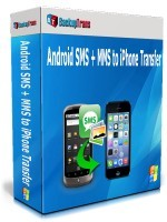 Backuptrans Android SMS + MMS to iPhone Transfer (Family Edition) Coupon