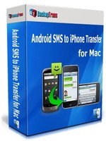 Backuptrans Android SMS to iPhone Transfer for Mac (Family Edition) Coupon Code