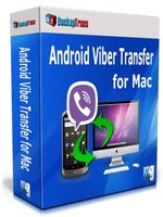Backuptrans Android Viber Transfer for Mac (Family Edition) Coupon Code