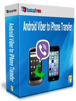 Backuptrans Android Viber to iPhone Transfer (Personal Edition) Coupon