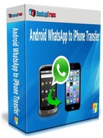 Backuptrans Android WhatsApp to iPhone Transfer (Personal Edition) Coupon Code