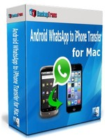 Backuptrans Android WhatsApp to iPhone Transfer for Mac (Personal Edition) Coupon