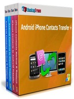 Backuptrans Android iPhone Contacts Transfer + (Family Edition) Coupon