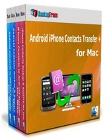 Backuptrans Android iPhone Contacts Transfer + for Mac (Family Edition) Coupon