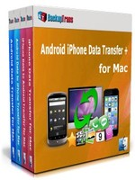 Backuptrans Android iPhone Data Transfer + for Mac (Family Edition) Coupon