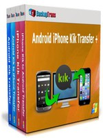 Backuptrans Android iPhone Kik Transfer + (Family Edition) Coupon