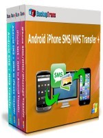 Backuptrans Android iPhone SMS/MMS Transfer + (Family Edition) Coupon