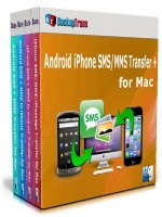 Backuptrans Android iPhone SMS/MMS Transfer + for Mac (Personal Edition) Coupon