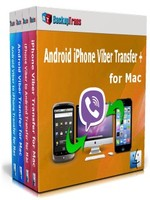 Backuptrans Android iPhone Viber Transfer + for Mac (Family Edition) Coupon