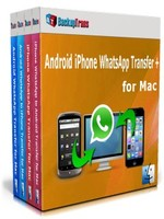 Backuptrans Android iPhone WhatsApp Transfer + for Mac(Family Edition) Coupon