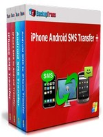 Backuptrans iPhone Android SMS Transfer + (Family Edition) Coupon