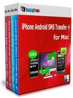 Exclusive Backuptrans iPhone Android SMS Transfer + for Mac (Family Edition) Coupon Sale