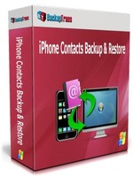 Backuptrans iPhone Contacts Backup & Restore (Family Edition) Coupon