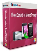 Backuptrans iPhone Contacts to Android Transfer (One-Time Usage) Coupon