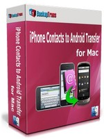Premium Backuptrans iPhone Contacts to Android Transfer for Mac (One-Time Usage) Coupon