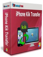 Backuptrans iPhone Kik Transfer (Personal Edition) Coupon