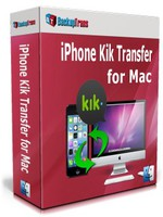 Backuptrans iPhone Kik Transfer for Mac (Family Edition) Coupon