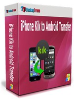 Backuptrans iPhone Kik to Android Transfer (Personal Edition) Coupon