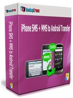 Backuptrans iPhone SMS + MMS to Android Transfer (Family Edition) Coupon