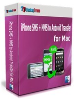 Backuptrans iPhone SMS + MMS to Android Transfer for Mac (One-Time Usage) Coupon Sale