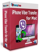 Backuptrans iPhone Viber Transfer for Mac (Family Edition) Coupon