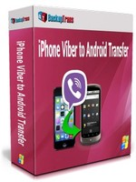 Backuptrans iPhone Viber to Android Transfer (Business Edition) Coupon
