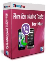 Backuptrans iPhone Viber to Android Transfer for Mac (Family Edition) Coupon