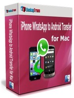 Backuptrans iPhone WhatsApp to Android Transfer for Mac(Family Edition) – Exclusive Coupon