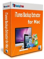 Exclusive Backuptrans iTunes Backup Extractor for Mac (Personal Edition) Coupons