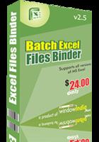 15% OFF – Batch Excel Files Binder