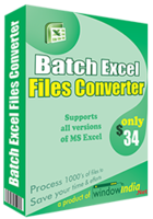 Batch Excel Files Converter Coupon