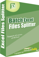Batch Excel Files Splitter Coupon