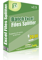 Batch Excel Files Splitter Coupon Code