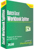 15% Batch Excel Workbook Splitter Coupon Code