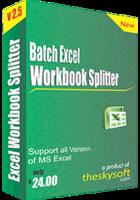 Batch Excel Workbook Splitter Coupon