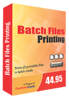 Batch Files Printing Coupon