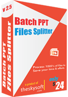 Secret Batch PPT Files Splitter Discount