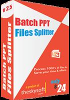 Secret Batch PPT Files Splitter Discount
