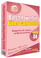 Window India – Batch PowerPoint File Converter Sale
