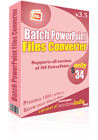 Batch PowerPoint File Converter Coupon