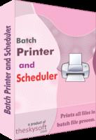 Batch Printer and Scheduler Coupon