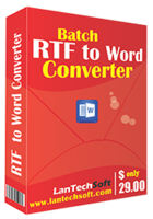 Batch RTF to Word Converter Coupons