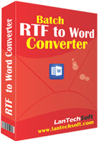 Exclusive Batch RTF to Word Converter Coupon Sale