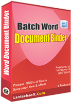 Exclusive Batch Word Document Binder Coupons