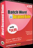 LantechSoft – Batch Word Document Binder Coupon