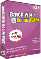 Batch Word Document Splitter Sale Coupon