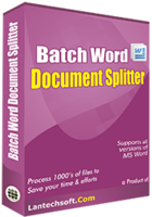 Unique Batch Word Document Splitter Coupon Discount